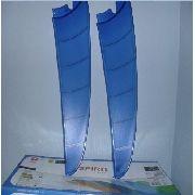 Pás Ventilador De Teto Spirit Azul - Par