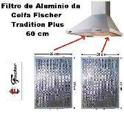 Filtro De Aluminio Lavável Coifa Tradition Plus 60cm Fischer