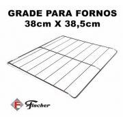 GRADE GRELHA FORNO FISCHER 38X38,5cm