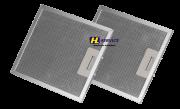 Kit 02 Filtros De Alumínio Coifa Tramontina Vetro 90 / 60 (26x32)