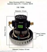 MOTOR ASPIRADOR ELECTROLUX BPS 1S 127V (A99515302) 64503049