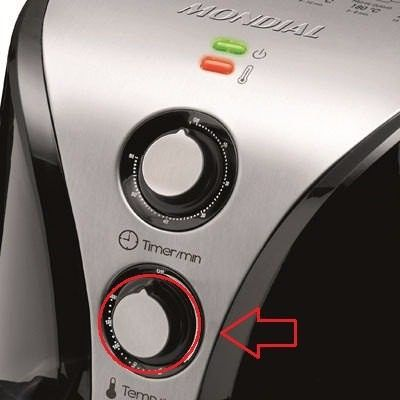Botão De Temperatura Fritadeira Air Fryer Mondial Original  - HL SERVICE