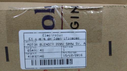 Motor Liquidificador Electrolux 220v Bbr 20 Bbr 21 Bbr 30