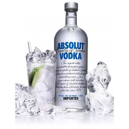 Vodka Absolut - 1l