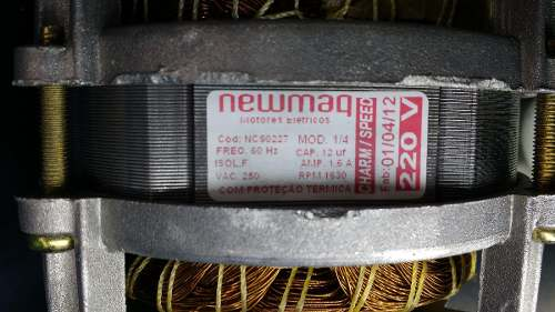 Motor Lavadora Newmaq Charm / Speed 220v  - HL SERVICE