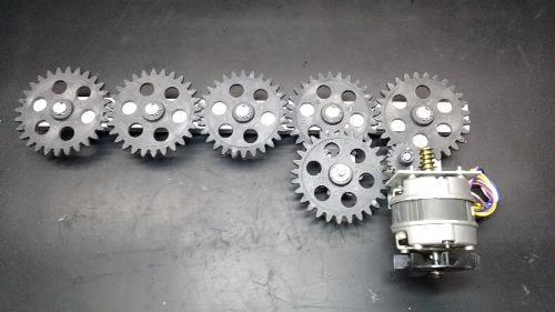 Kit De Engrenagens Churrasqueira Arke 05 Espetos C/ Motor