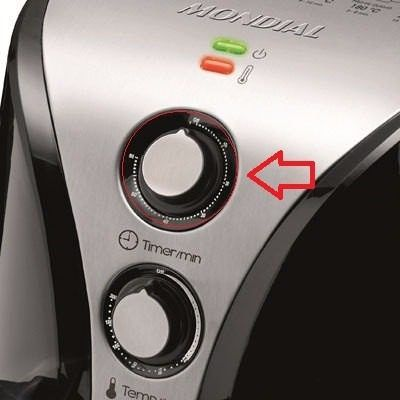 Serigrafia Do Timer Fritadeira Air Fryer Mondial Original