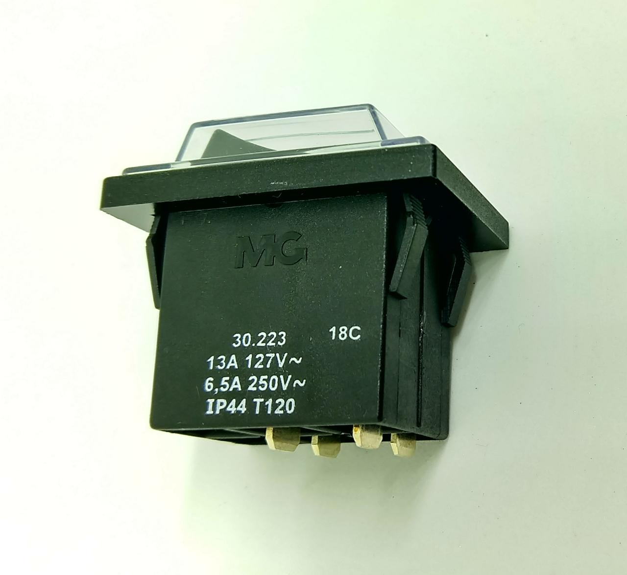 CHAVE INTERRUPTOR ELECTROLUX COM CAPA 16A (64400488)  - HL SERVICE
