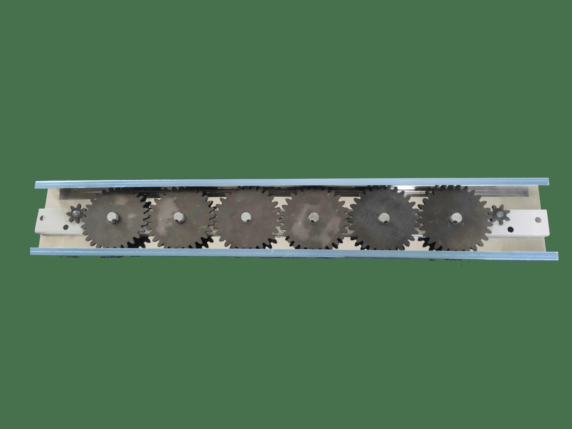 Conjunto Engrenagens para Churrasqueira a Carvão 6 Espetos  - HL SERVICE