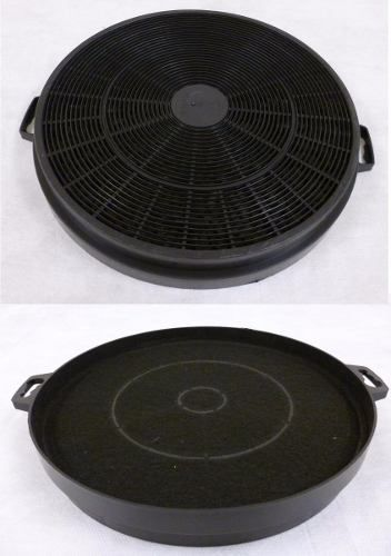 Filtro De Carvão Redondo 21cm Coifa - 2 unidades