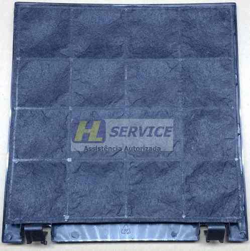 Kit 01 Filtro de Alumínio + 01 Filtro Carvão Suggar Nova Esmeralda 90 cm  - HL SERVICE