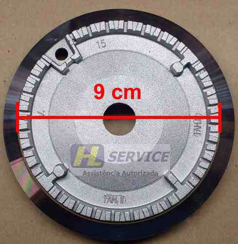 Kit Difusor Cooktop 5 Queimadores c/ Aba   - HL SERVICE