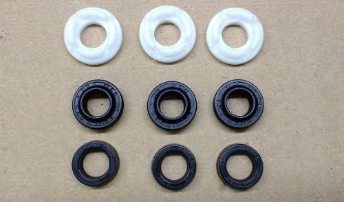Kit Gaxeta (Vedação Selo) + Kit Valvulas CPl Pressão Electrolux EWS10 / UWS11  - HL SERVICE
