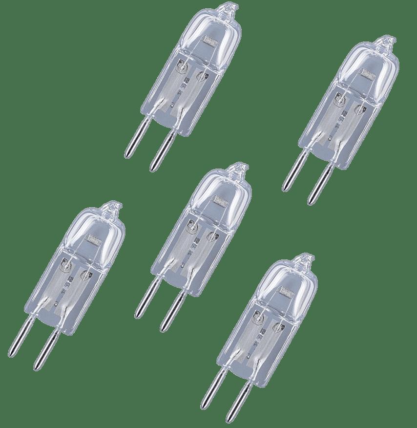 Kit Lâmpada Halógena para Coifas 12v 20w  - 5 unidades   - HL SERVICE