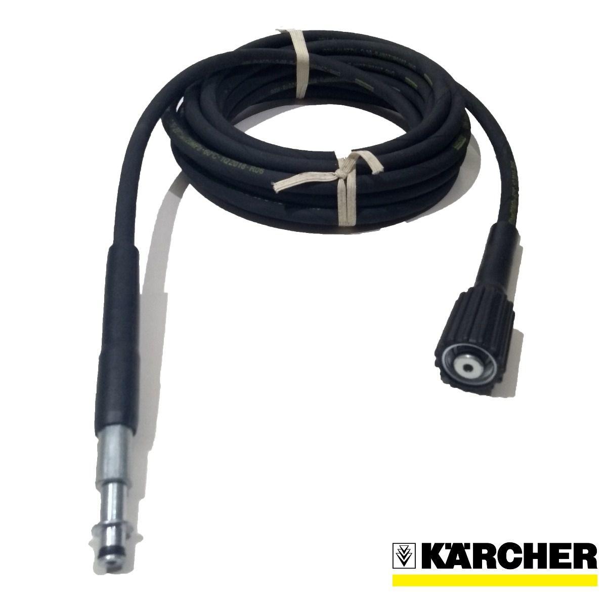 Mangueira Lavadora Karcher HD 585 Trama Aço 7,5m  - HL SERVICE