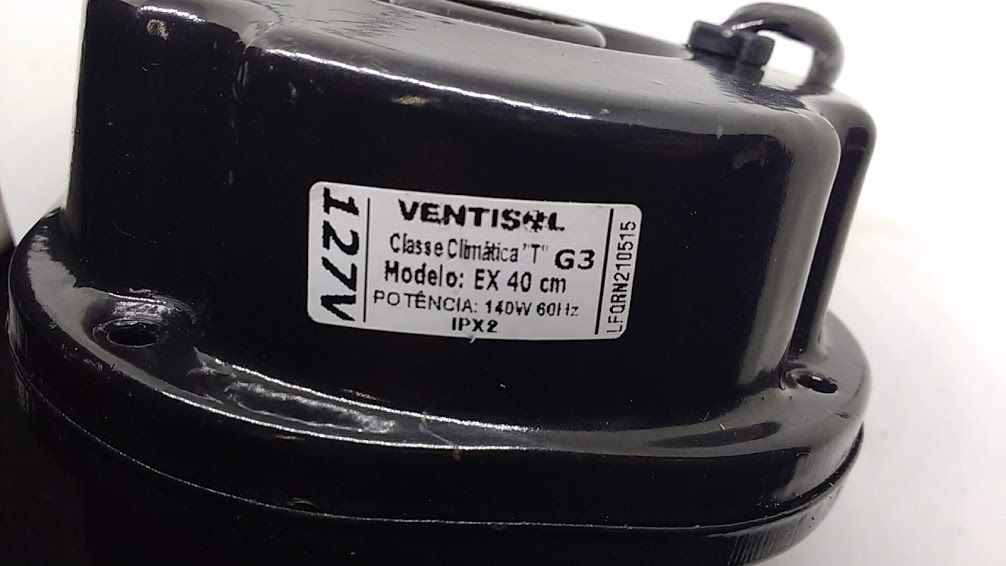 Motor Exaustor Ventisol G3 EX 40 CM 127v  - HL SERVICE