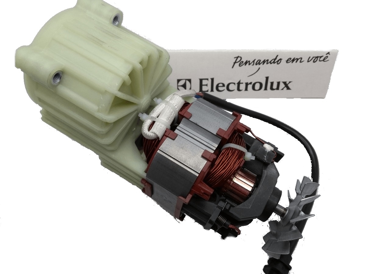 MOTOR LAVADORA ELECTROLUX EWS30 / EWS31 220V (2AQ30011R)  - HL SERVICE