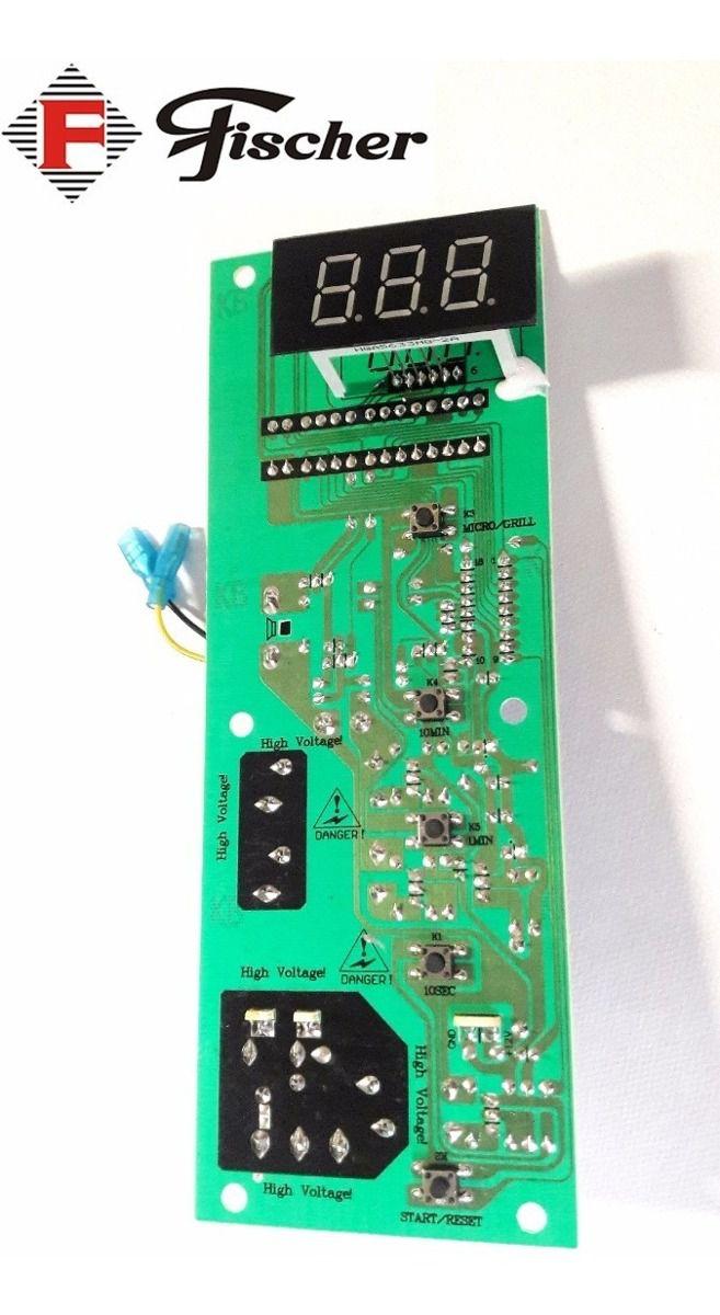 PLACA CIRCUITO PAINEL 220V/127V MICROONDAS FISCHER  - HL SERVICE