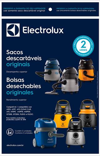 SACO ASPIRADOR ELECTROLUX A10 AQP10 FLEX AQP20 AWD01 GT20 03 UN. (70035078)  - HL SERVICE