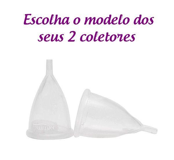 Kit 2 Coletores