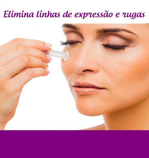Ventosas  para massagem Facial
