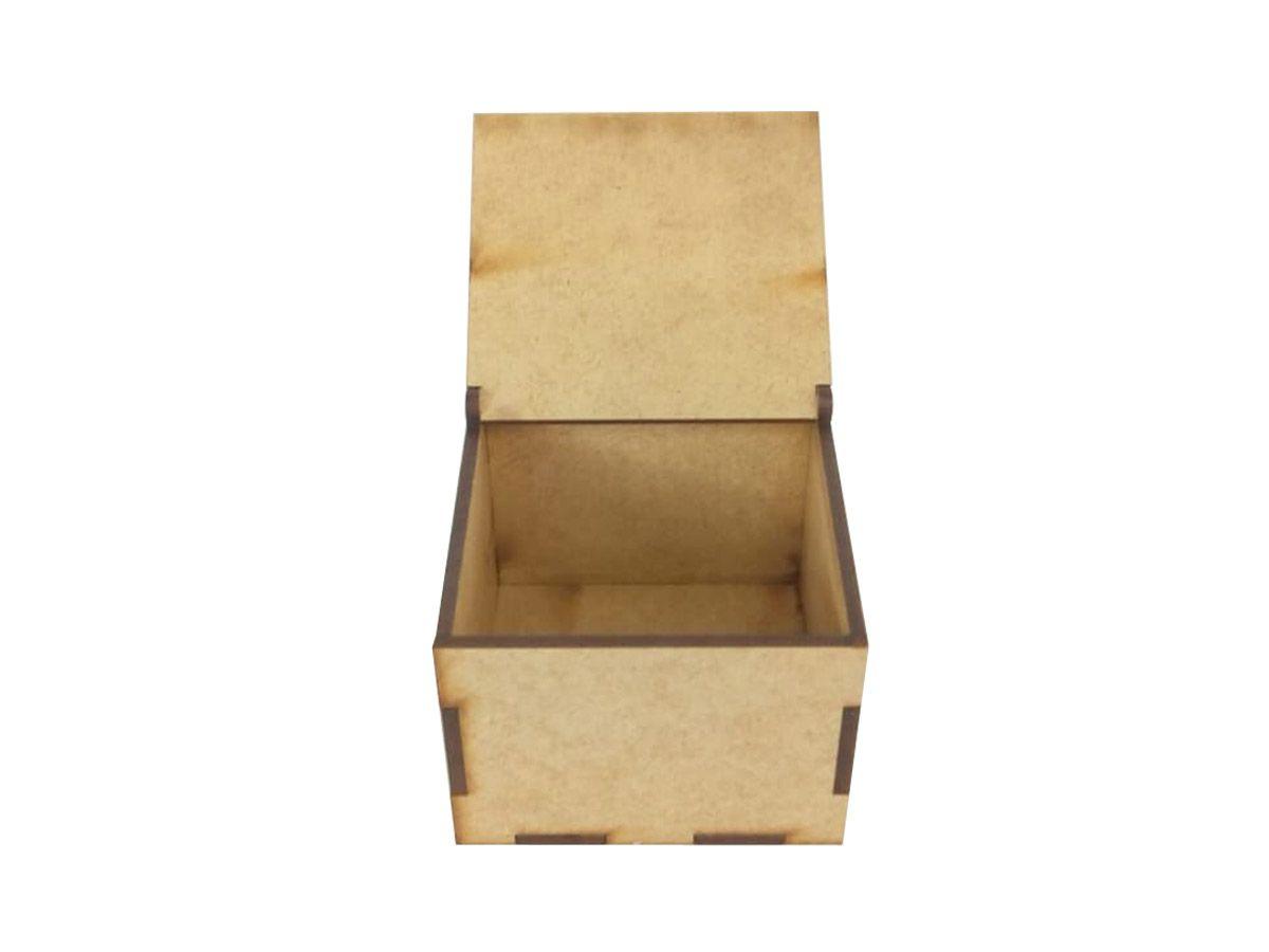 10 Caixas 5,5x7x7 Mdf Lembrancinhas Casamento Mdf Cru