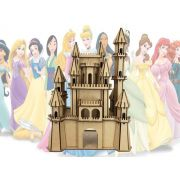 Castelo Disney Frozen Em Mdf Enviado Desmontado