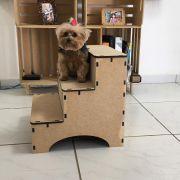 Escada Pet Para Cachorros E Gatos Em Mdf