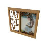 Kit 10 Porta Retrato Dia Das Mães Mdf Cru Lembranças