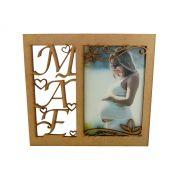 Porta Retrato Dia Das Maes 10x15 Em Mdf Lançamento 10 Peças