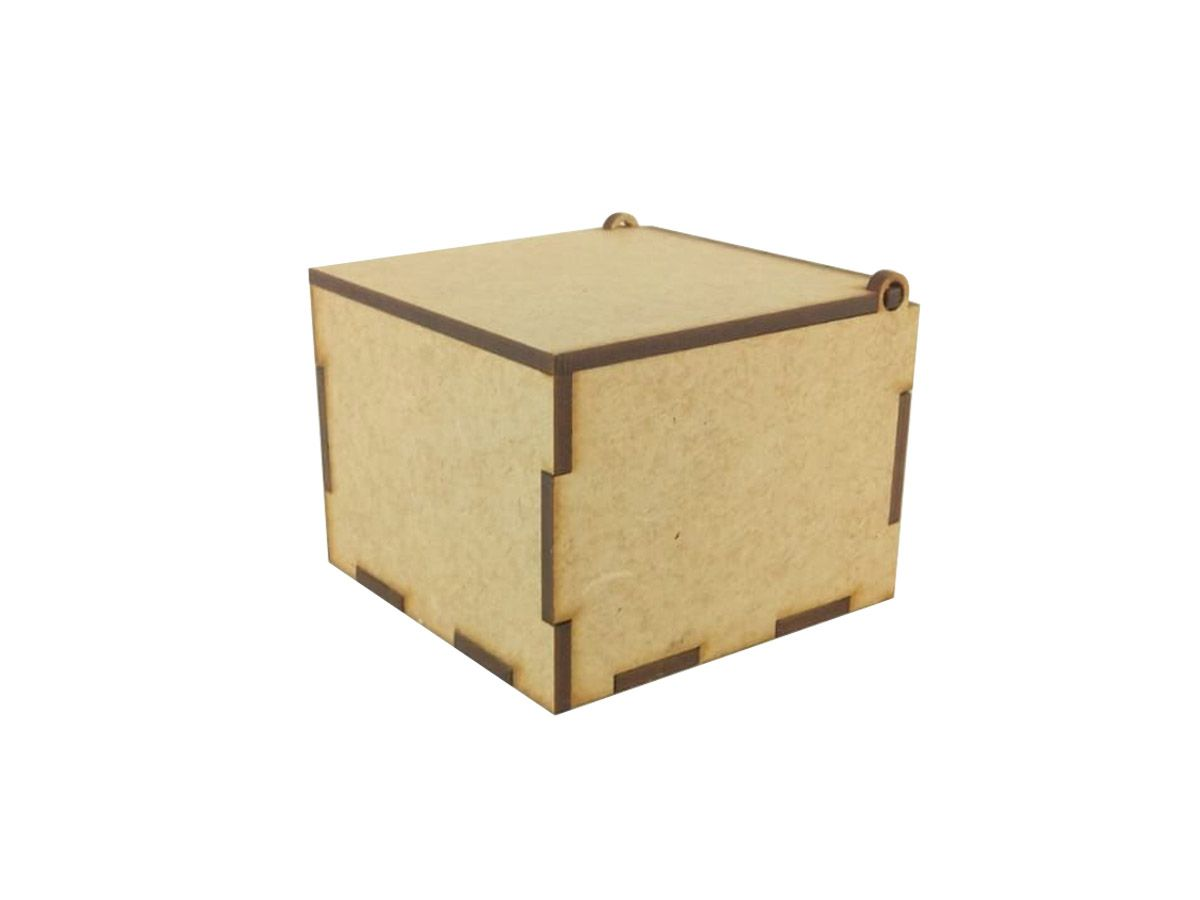 20 Caixas 5,5x7x7 Mdf Lembrancinhas Casamento Mdf Cru