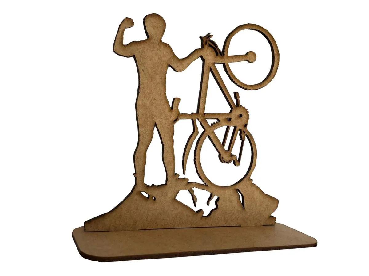Kit 20 Troféus Em Eventos De Bike