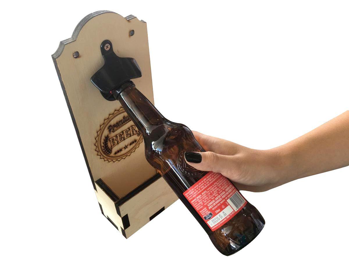 Abridor De Garrafa De Parede Vintage Beer Cerveja