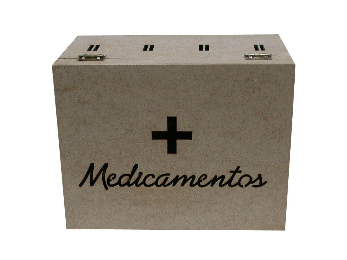 Caixa Passa Fita Para Medicamentos Grande