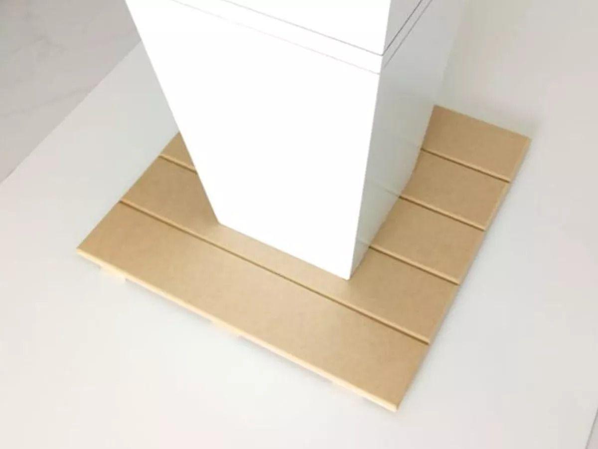 Deck De Madeira Para Decoração Modular Mdf 50x50cm