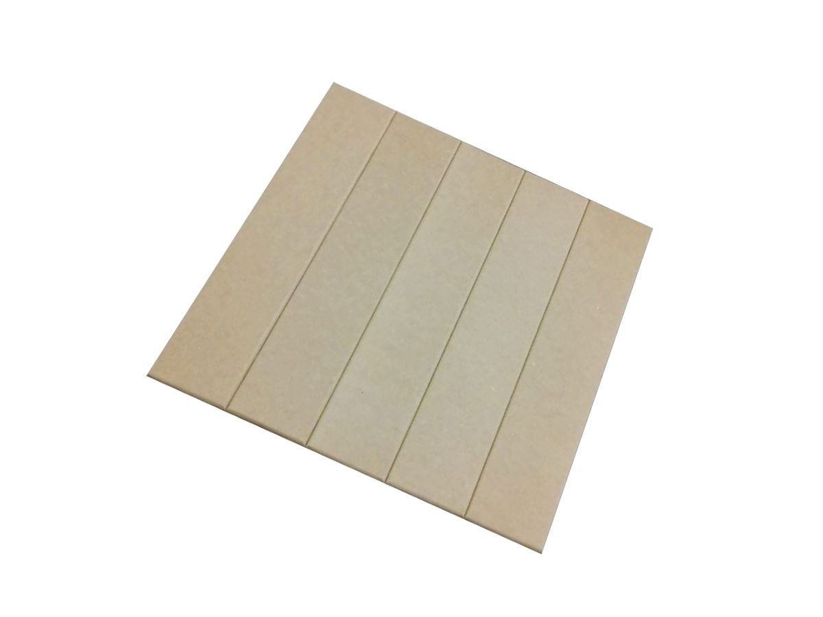 Deck Em Mdf 50x50 Placas De Madeira Cru Kit 4 Unidades