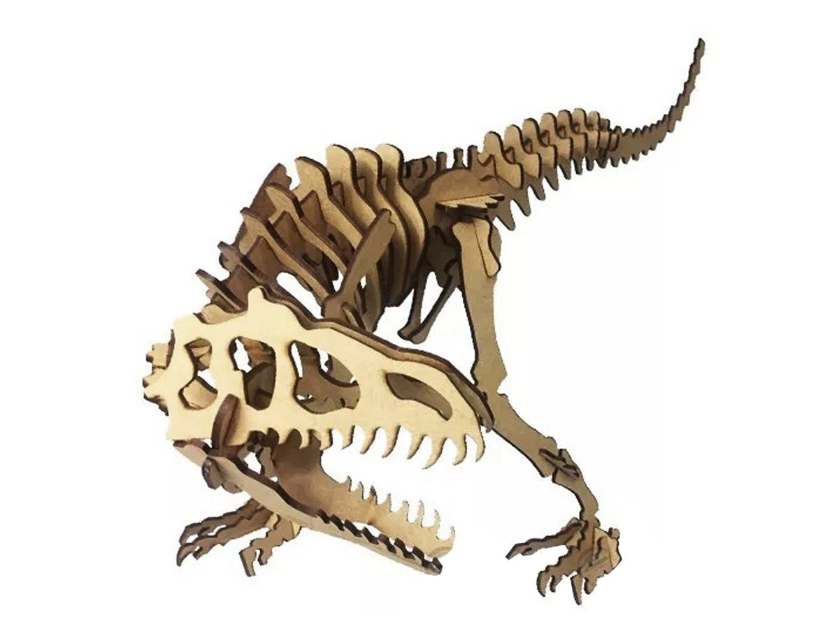 Dinossauro Alossauro em Mdf Cru