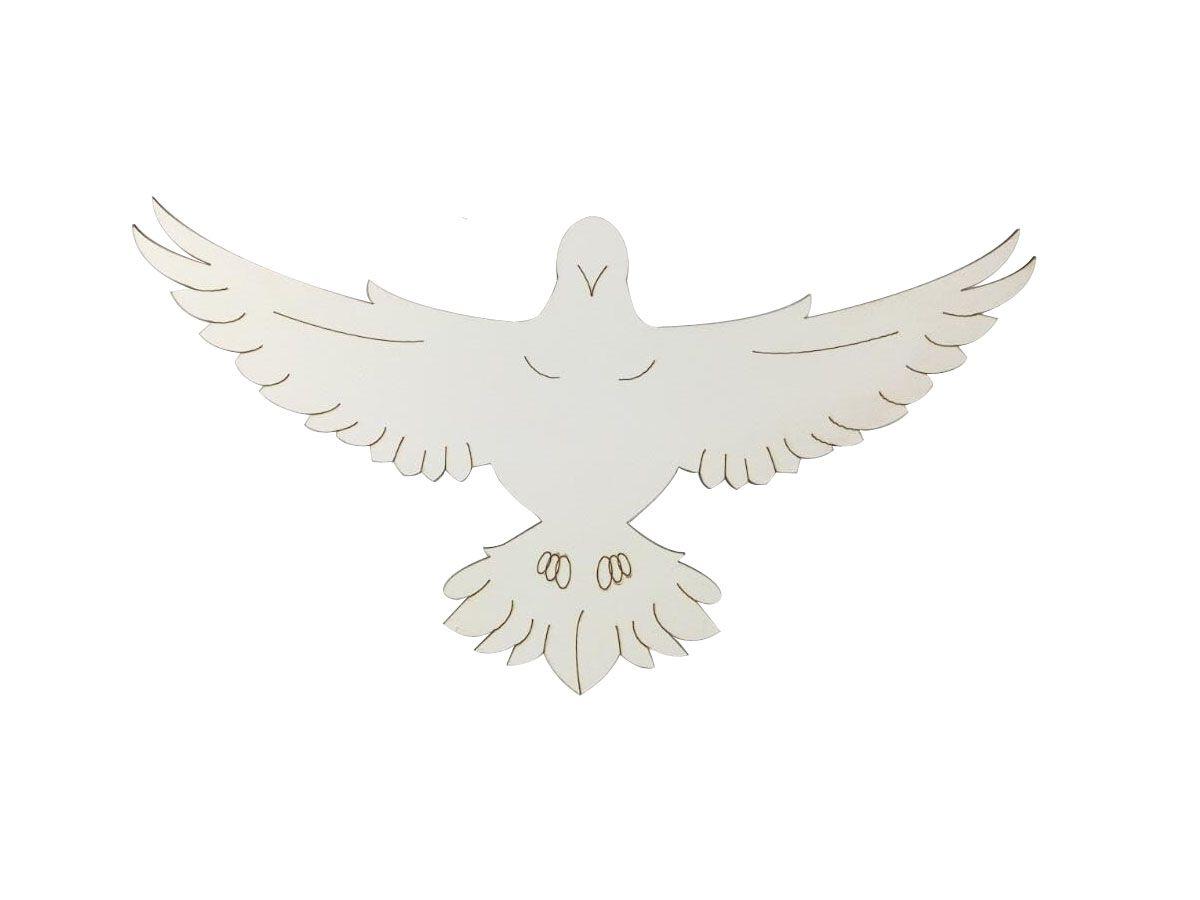 Divino Espírito Santo Decoração em Mdf Batisado