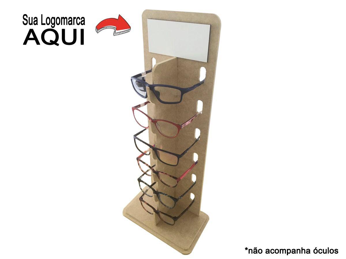 Expositor De Balcão Para 6 Óculos
