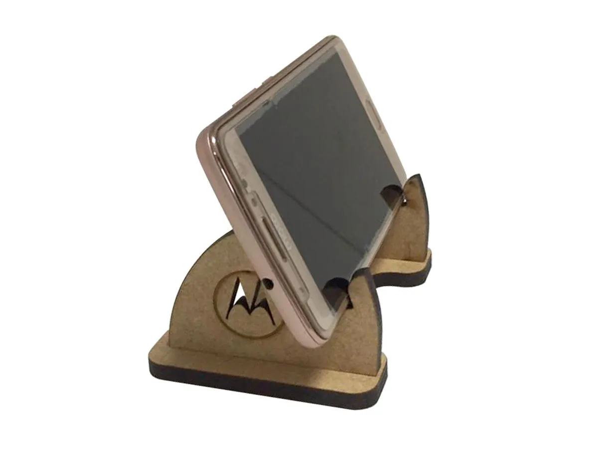 Kit 10 Lembrancinhas Porta Celular Em Mdf Cru