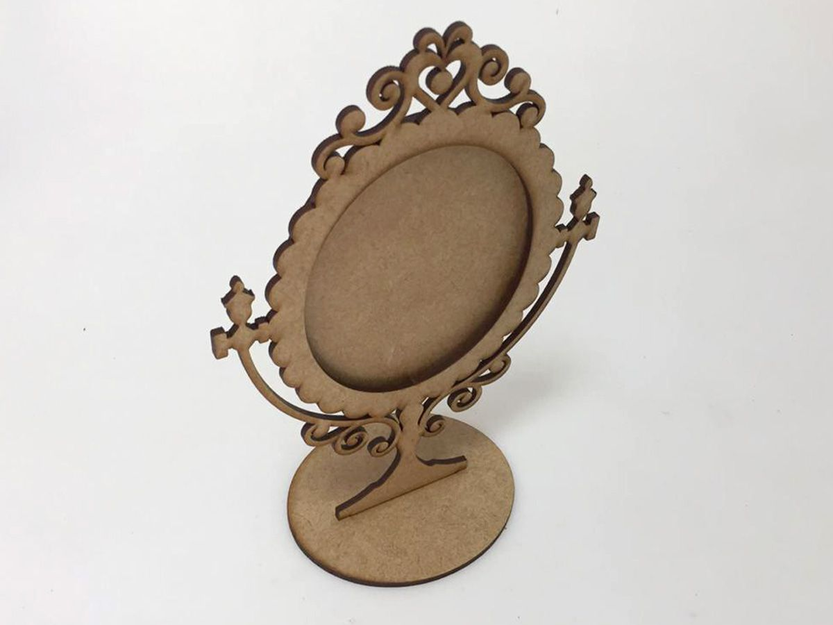 Kit 20 Moldura Espelho De Mesa Mdf Festa Lembrancinhas 1026