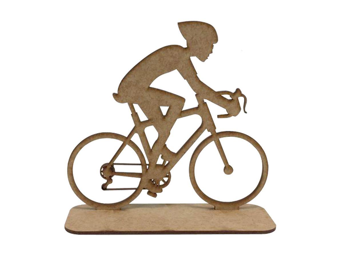Kit 20 Troféus Para Bike Mtb Ou Speed Em Mdf