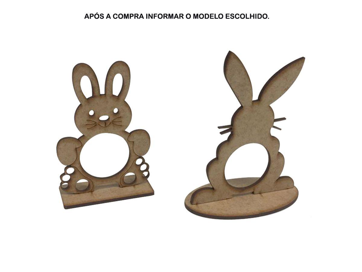 Kit 60 Lembrancinhas Coelho Porta Bombom Páscoa