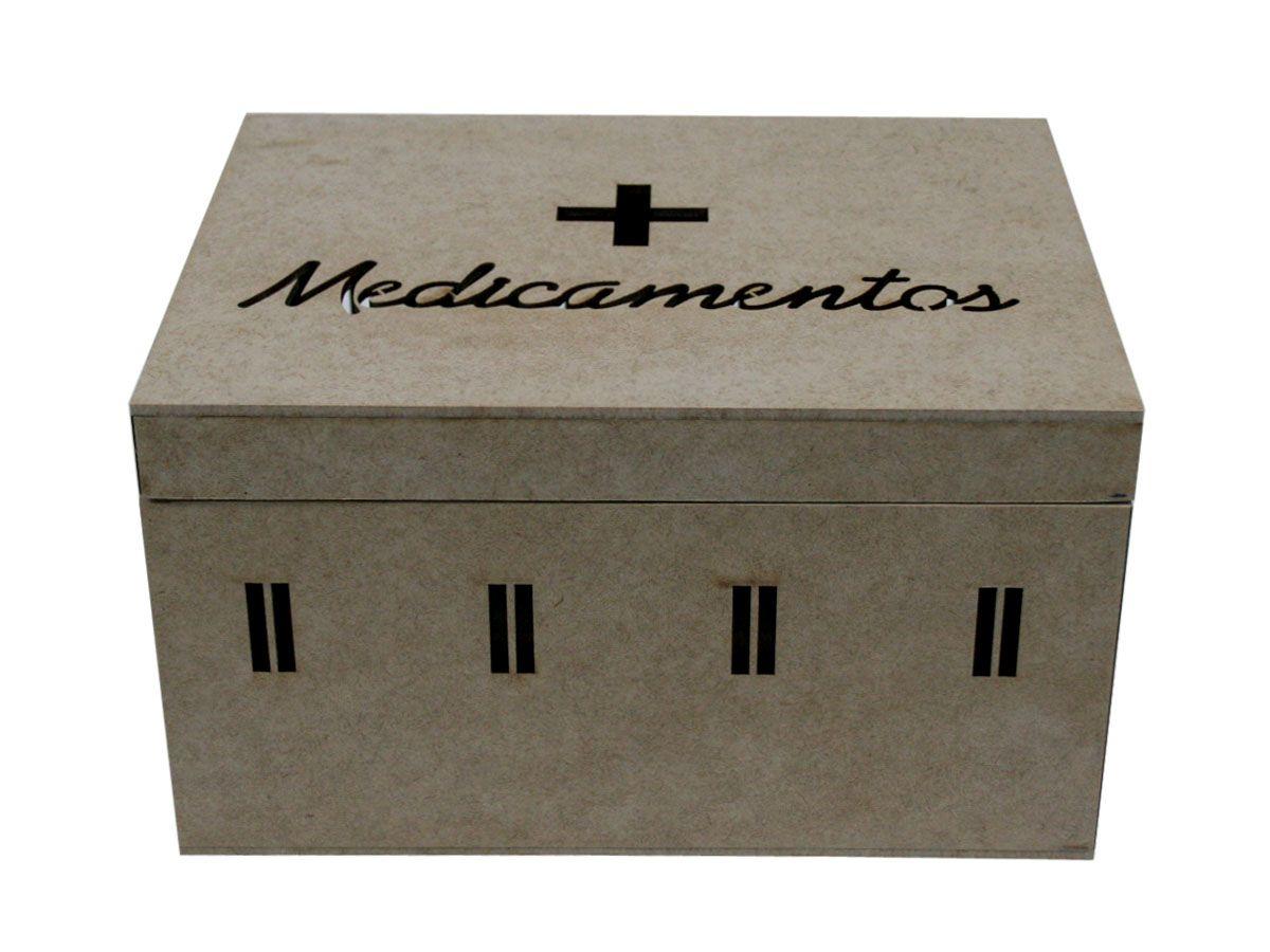 Maleta Caixa Primeiros Socorros De Medicamentos
