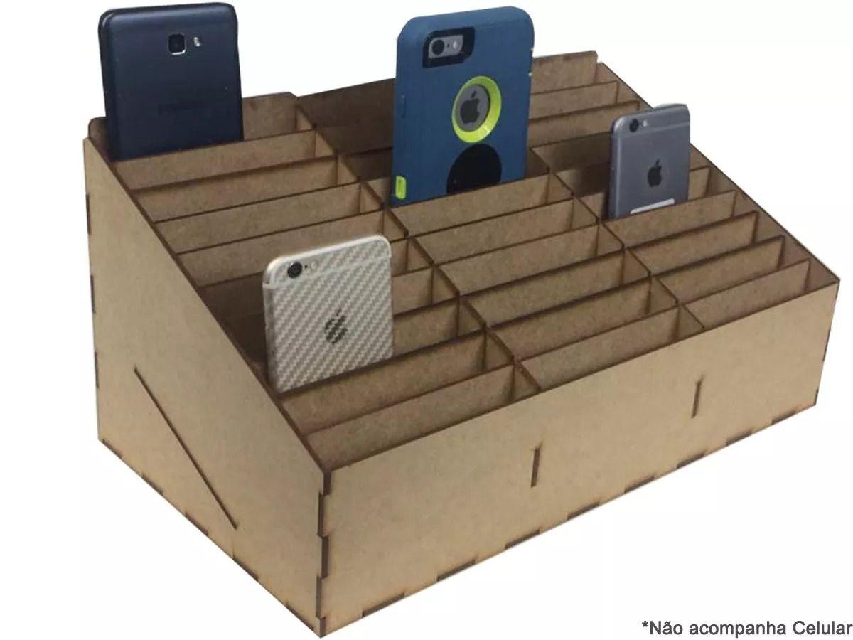 Organizador De Celulares Para Assistências E Oficinas