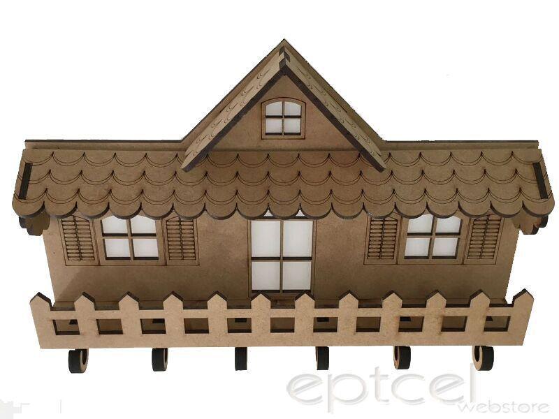 Porta Chave Enfeite Parede Decorativo Retro Casa
