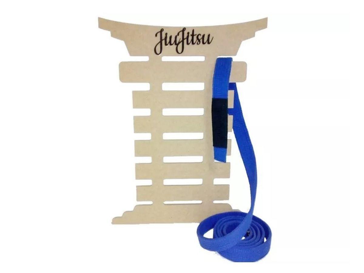 Porta Faixa De Jiu Jitsu Quadro Medalhas