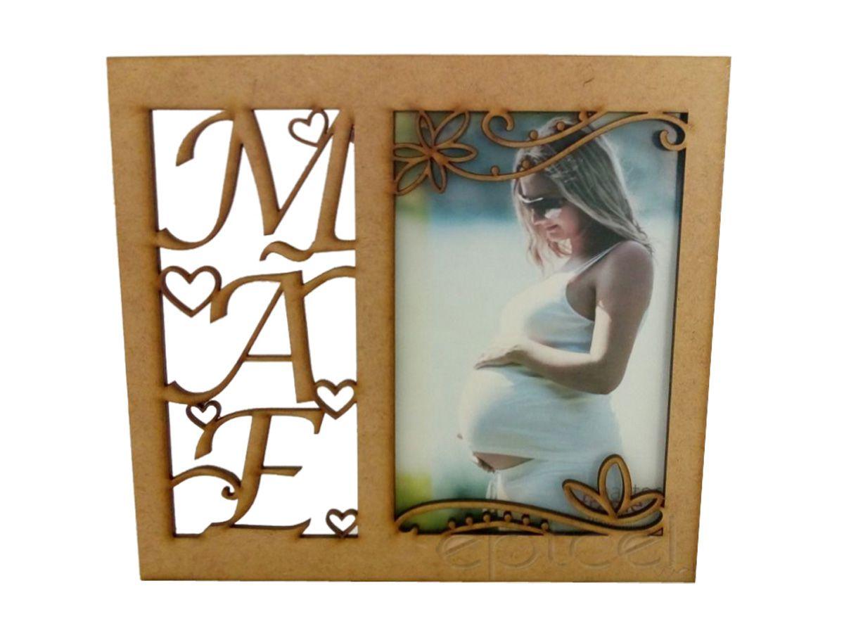 Porta Retrato Dia Das Mães Lembrança Única Kit 10 Unidades