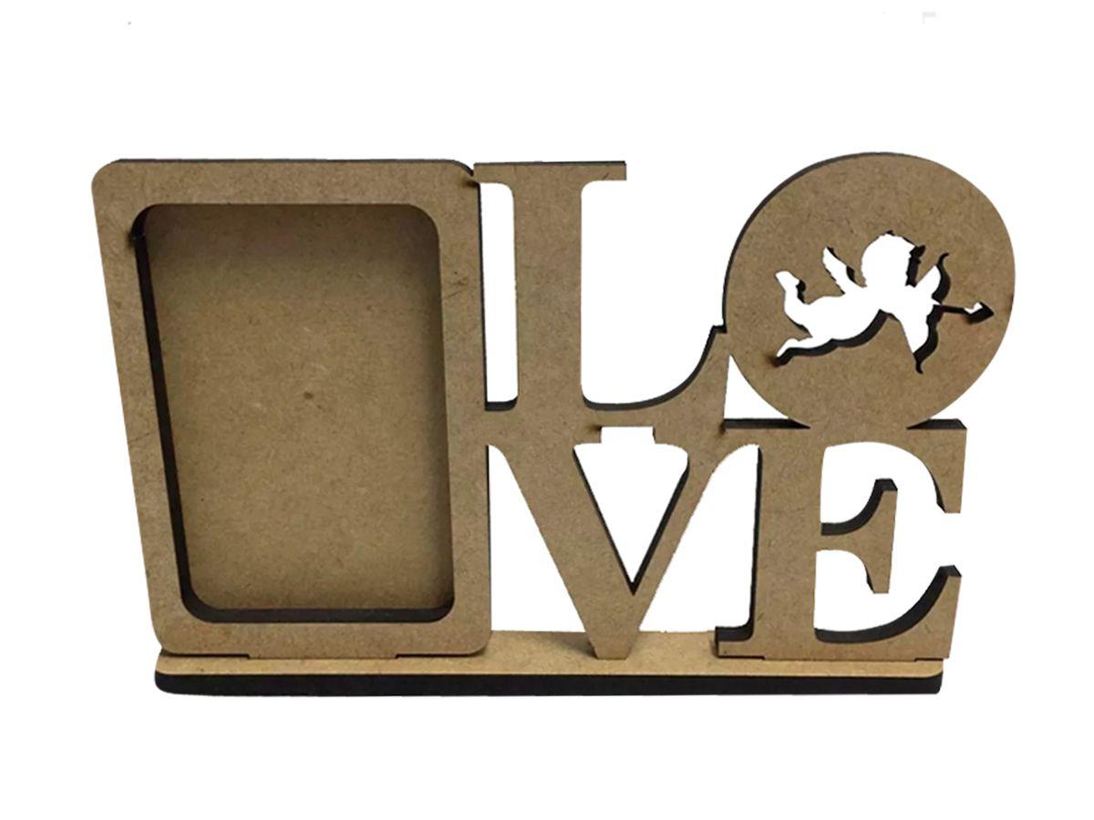 Porta Retrato Em Mdf Love Amor Decoracao