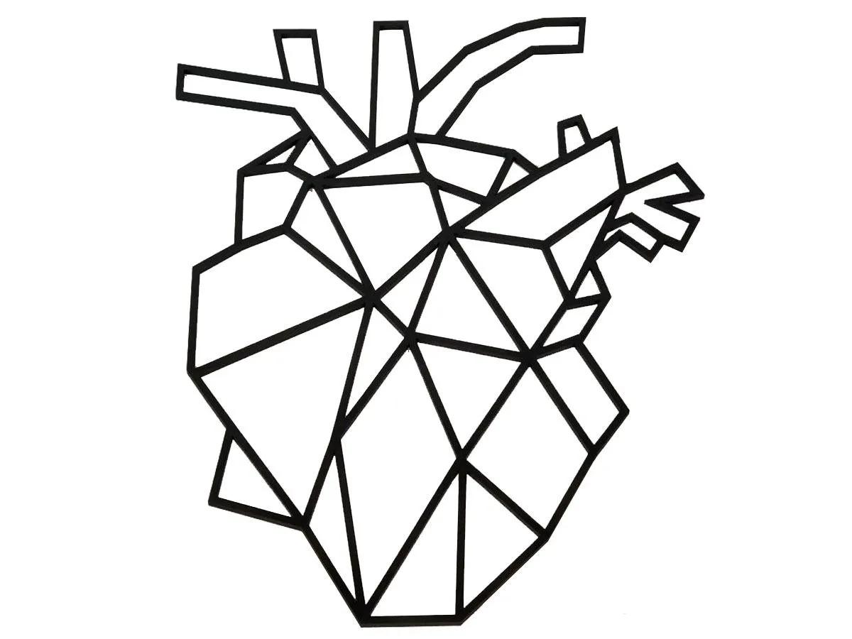 Quadro Coração Consultórios Médicos Medicina Cardio